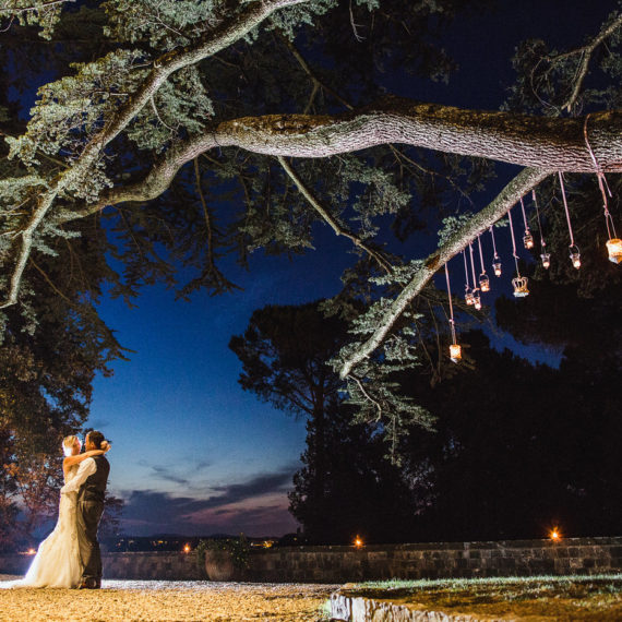 MARIAGE EN TOSCANE, (CHATEAU B)