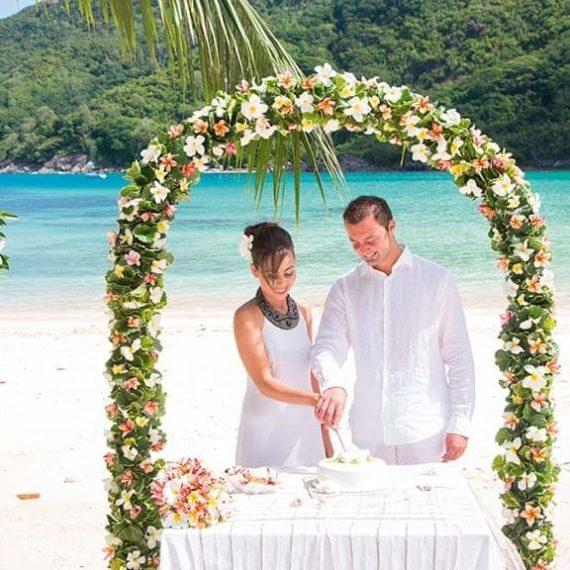 MARIAGE AU CONSTANCE EPHELIA, MAHE, SEYCHELLES