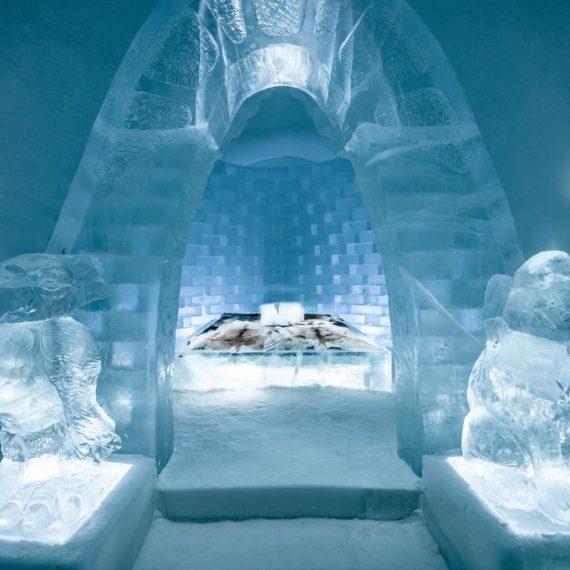 ICE HOTEL, SUÈDE / NORVÈGE