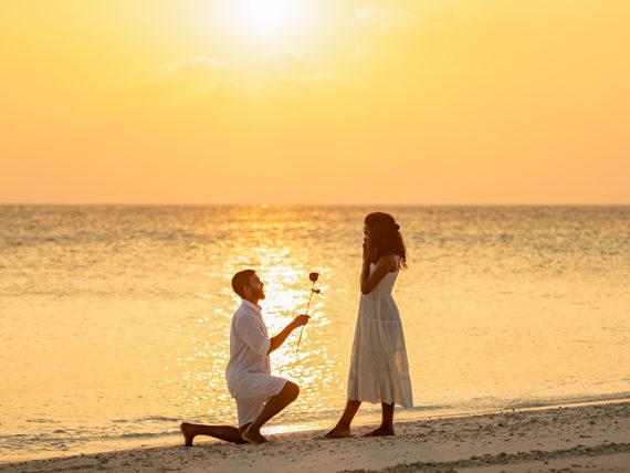 DEMANDE EN MARIAGE, ILE MAURICE