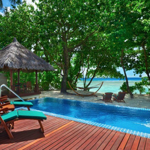 Deluxe Beachfront Pool Villa