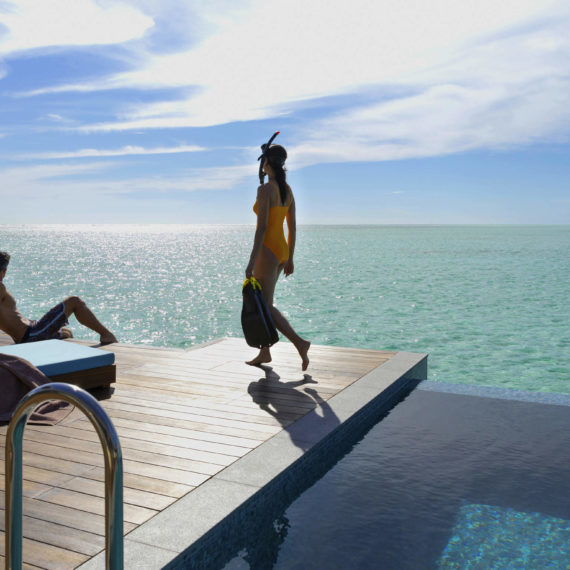 Suite Océan avec piscine